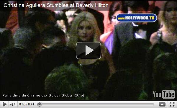 """Christina Aguilera: Une grosse dispute aurait éclatée aux Golden Globes avec...   Le 16 janvier 2011, les Golden Globes battaient leur plein à Hollywood et tout semblait s'être passé dans le calme et l'harmonie. Mais les échos d'une soi-disant bagarre déclenchée par Christina Aguilera font aujourd'hui parler d'eux ! En effet, selon la rumeur, elle s'en serait violemment pris à sa co-star dans «Burlesque», Julianne Hough. Voila comment l'action ce serait passée: """"Christina s'est approchée d'elle de manière menaçante"""", raconte un témoin de la scène à E! Online, précisant que les insultes volaient. """"Julianne Hough s'est écartée en criant : « NE ME TOUCHE PAS », alors que Xtina essayait visiblement de l'attraper. """"C'était très troublant, les gens se sentaient mal pour Julianne"""". Christina l'aurait même menacée de ruiner sa carrière ! On se croirait chez les bisounours...On ignore quel a pû être l'élément déclencheur de cette supposée inltercation. Selon certains, Christina et Julianne ne s'entendaient pas sur le tournage de «Burlesque». Le porte-parole de Julianne a refusé de commenter cette information, tandis que celui de Christina  trouve qu'elle n'a «aucun sens».   INFO ou INTOX ? Tu y crois ? Affaire à suivre..."""
