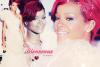 """* Bienvenue sur RihannFentz.SKYROCK.COM ! Née le 20 février 1988 à Saint-Michael (Barbade), Robyn Rihanna Fenty, connue sous son nom de scène Rihanna, est une chanteuse et actrice américano-barbadienne de R&B et de Pop. Elle a sortit cinq albums studio et des tubes mondiaux comme Umbrella, Disturbia ou Rude Boy. Elle a effectué deux tournées mondiales, The Good Girl Gone Bad Tour en 2008 et The Last Girl on Earth Tour en 2010. Sa mère est native de la Guyana, d'origine afro-guyanaise. Son père lui est d'origine barbadienne et irlandaise. Ils divorcent l'année de ses 14 ans. Passionnée de musique, Rihanna chante très souvent en écoutant ses artistes favoris, Mariah Carey, Alicia Keys et celle qu'elle nomme étant sa préférée et sa plus grande source d'inspiration, Beyoncé. Elle rencontre en 2003 le producteur Evan Rogers, alors qu'elle participe à un concours de chant. Il décide de lui faire enregistrer une maquette de 12 chansons. Dès la première écoute des titres de Rihanna, Jay-Z est à son tour conquis et fait signer un contrat à la jeune fille sur Def Jam, le label qu'il dirige à l'époque. Le single Pon de Replay est alors édité et obtient du succès dès sa sortie. Fin 2005, Rihanna, alors âgée de 17 ans, sort son premier album, Music of the Sun qui obtient lui aussi du succès. Rihanna est sur le point de sortir son cinquième album studio nommé """"LOUD"""", dont les deux premiers singles sont Only Girl et What's My Name. *"""