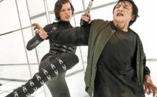 milla jovovich vs jackie zombie