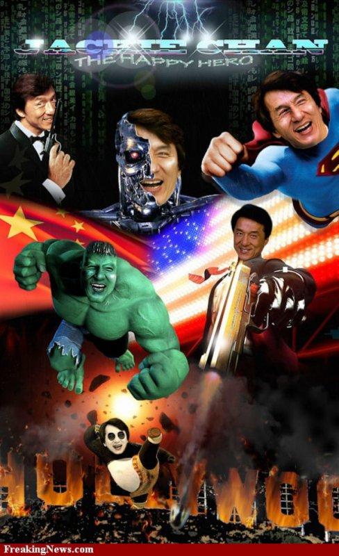 jackie chan en super heros