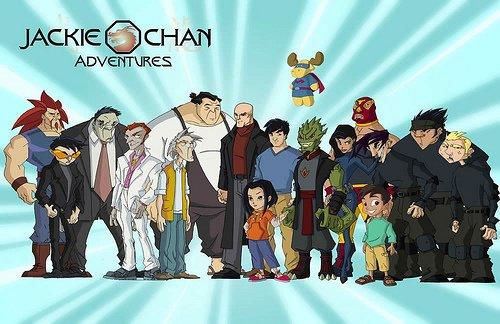 Jackie Chan (Jackie Chan Adventures) est une série télévisée d'animation américaine en 95 épisodes de 25 minutes, créée par John Rogers, produite par Jackie Chan et diffusée entre le 9 septembre 2000 et le 8 juillet 2005 dans le bloc de programmation Kids' WB. En France, la série a été diffusée à partir de mars 2001 sur Canal J et à partir du 1er septembre 2001 sur France 3. Au Québec, elle a été diffusée sur VRAK.TV.