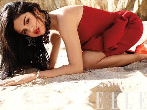 Selena Gomez: ELLE