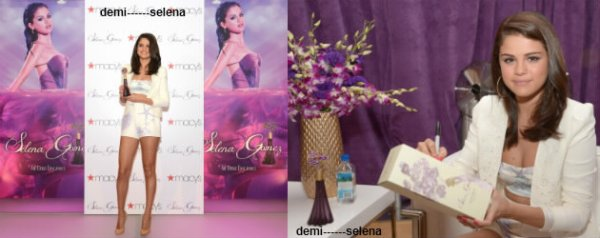 Selena Gomez: le lancement de sa fragrance