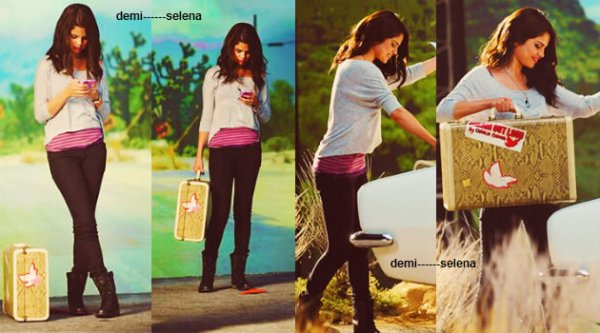 Selena Gomez: collection automne - hiver 2012 Dream Out Loud