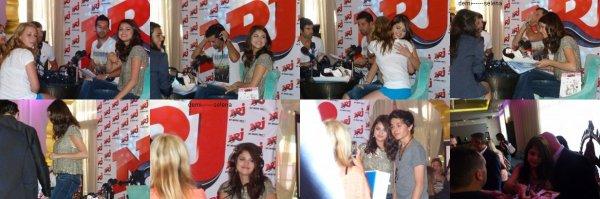 Selena Gomez: NRJ radio