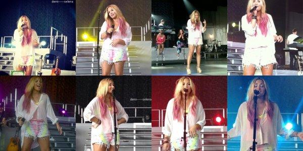 Demi Lovato: Soundcheck à Holmdel, NJ