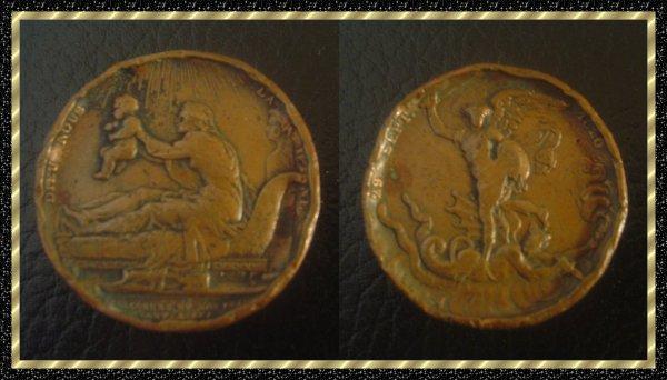 ۞ Médaille française, 1820 ۞