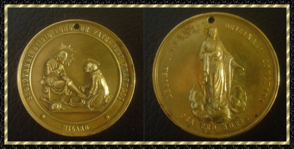 ۞ Médaille religieuse italienne ۞