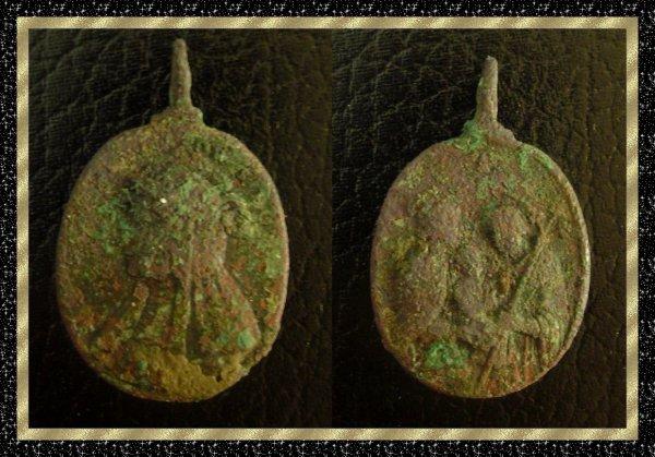 ۞ Médaille religieuse ancienne ۞