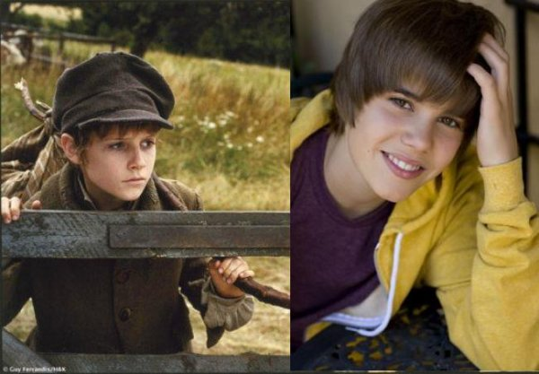 "Justin Bieber veut devenir le Oliver Twist ""moderne"""