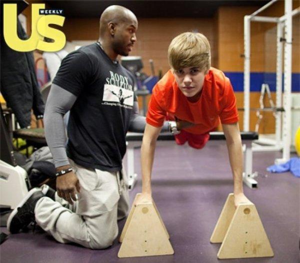 Justin Bieber : il s'entraine avec son coach personnel
