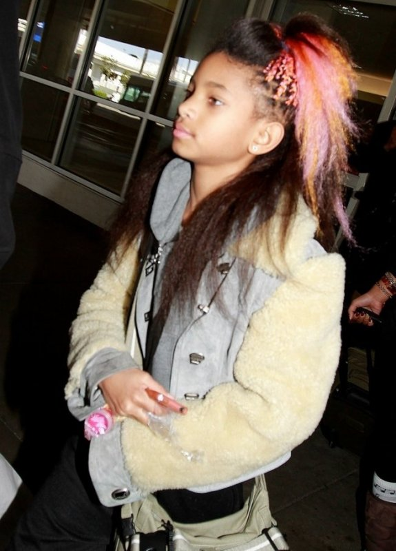 Willow Smith :encore une nouvelle couleur
