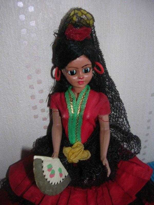 Jolie petite espagnole de mon enfance (années 70)