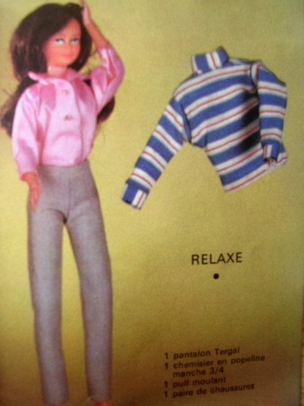 "SOPHIE TENUE ""RELAXE"" (années 60)"