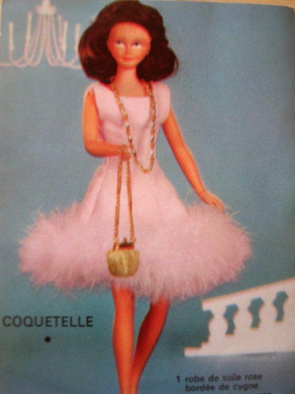 """SOPHIE TENUE """"COQUETELLE"""" (livret tenues Sophie années 60)"""