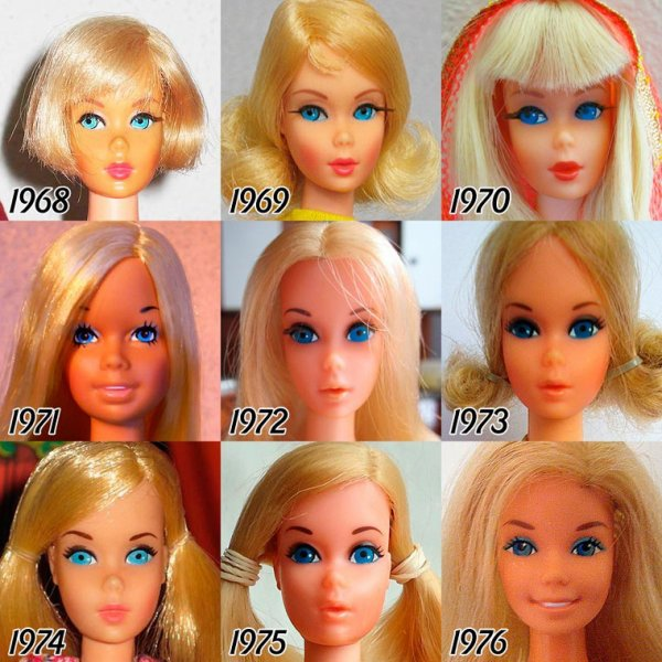 LA POUPEE BARBIE DE 1968 à 1976, laquelle préférez-vous ?