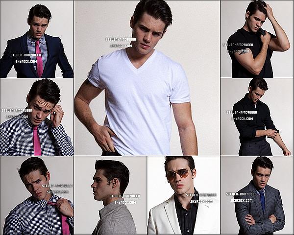 Re/Découvrez un photoshoot de Steven si beau gosse sur les photos *-* datant de 2013.