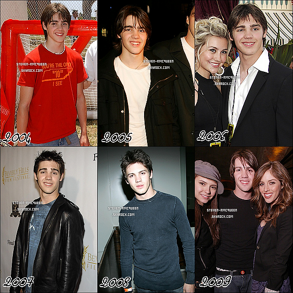 Voici l'évolution de Steven de 2004 à maintenant, chagement ? Quelles années préférez vous ?