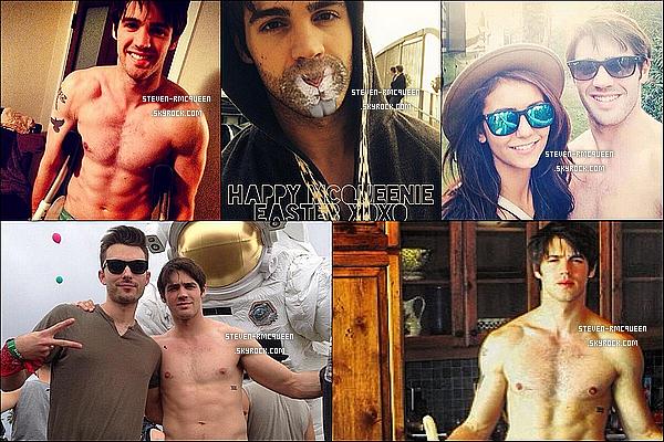 De nouvelles photos personnellesde Notre beauStevenR Mcqueenprovenant d'Instagram. On peut voir une photo de Steven en compagnie d'Harry Styles qui a été prise à L.A le 24 Avril.