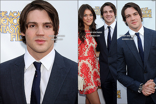 26 / 06 / 14 : Steven a été au 40th Annual Saturn Awards avec sa copine Olivia Pickren.