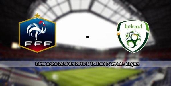 #EURO2016 - 1/8 de finale face à l'Irlande