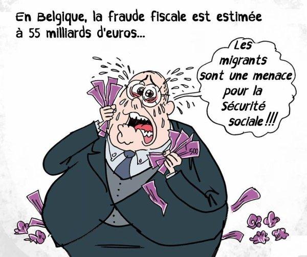 Hypocrisie des riches, des aisés et surtout de nos politiques belges, les plus grands fauts culs du monde !!!!