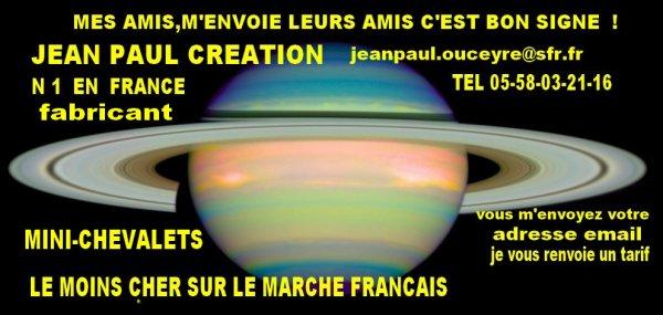 JEAN PAUL CREATION     FABRICANT