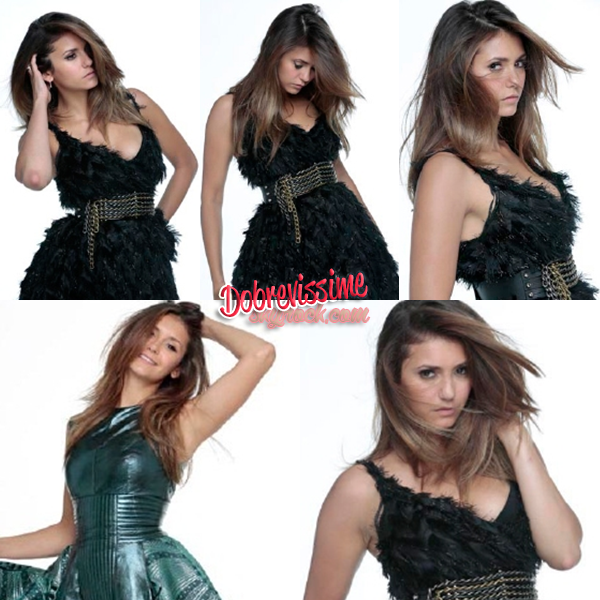 04.09.14 : Voici les photos de Nina pour le magasine Elle China