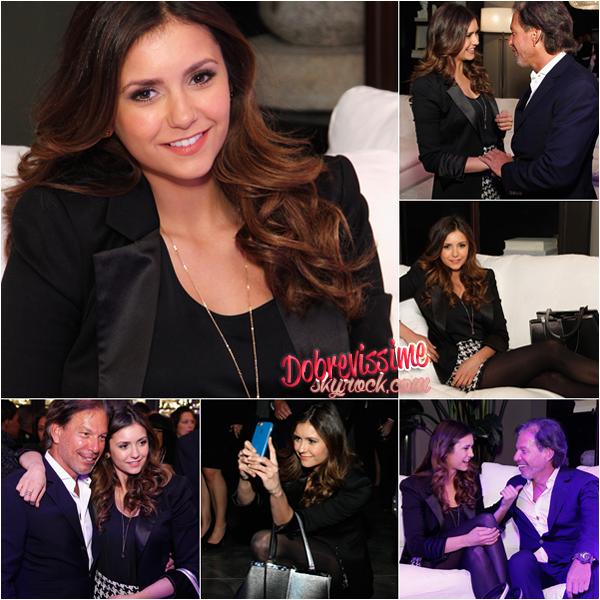 20.10.14 :Nina à l'ouverture du restaurant Hardware à Atlanta Tenue sobre mais chic, j'adore ! Pour moi c'est un top et toi ?