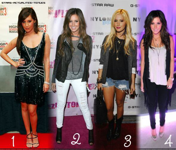 Look d'Ashley Tisdale(by Miss Fashion)