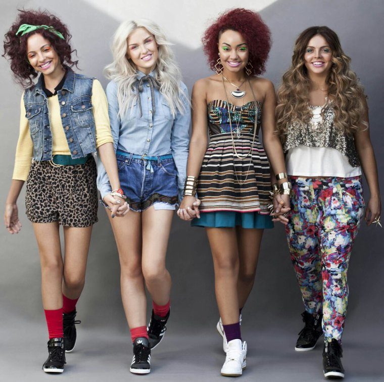 Les Little Mix avant(by Miss Fashion)