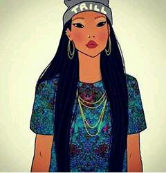 Pocahontas swag (by Miss Fashion)