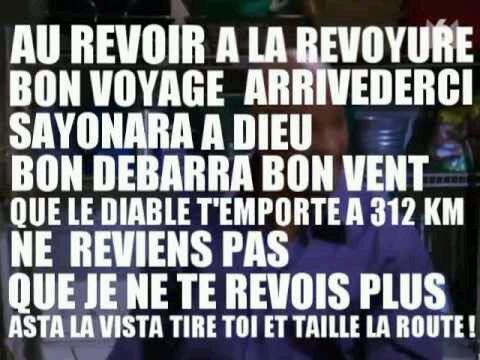 Au revoir !!(by Miss Fashion)