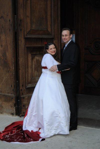 photo de mariage en courleur