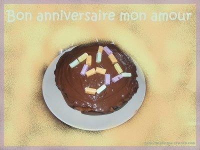 bon anniversaire mon amour