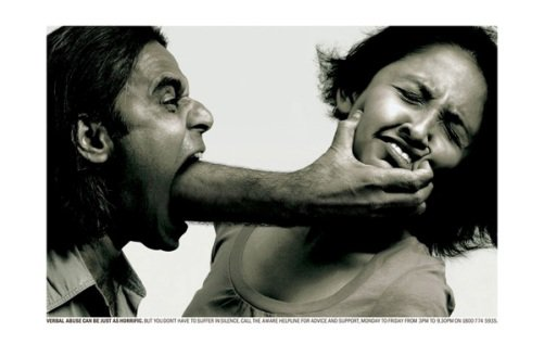 la violence verbale cache des coups violents. La violence verbale amène à la violence .. Agression subtile
