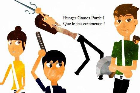 Affiche Hunger games !