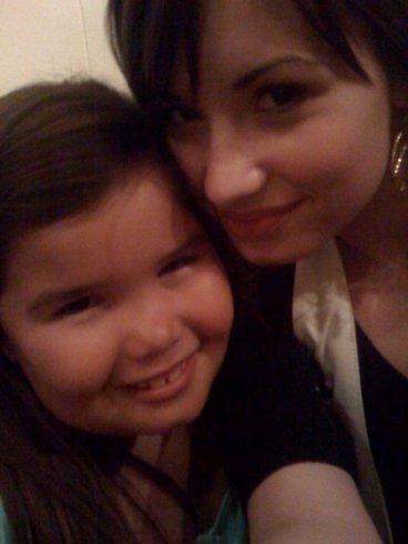 Demi Lovato avec sa soeur Madison De La Garza