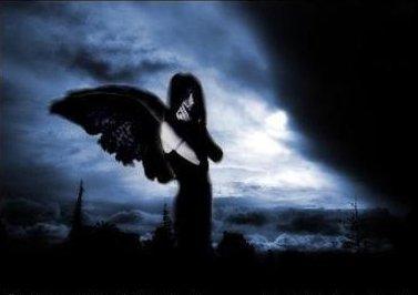 Coeur d'ange noir