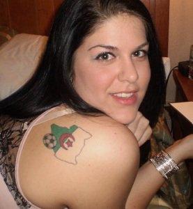 moi au tatouage  Algérie