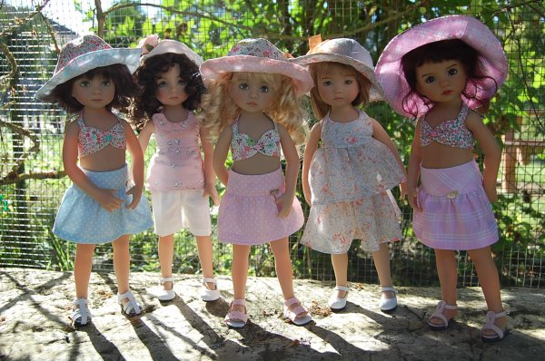 Mes Little Darling en tenues estivales