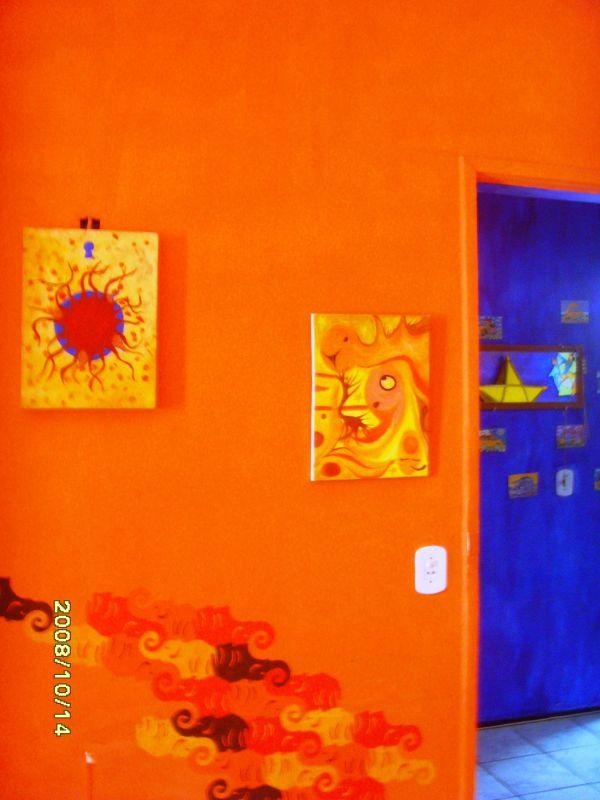 Chambre Orange Et Bleu ~ Idées de Design D\'intérieur et De Meubles