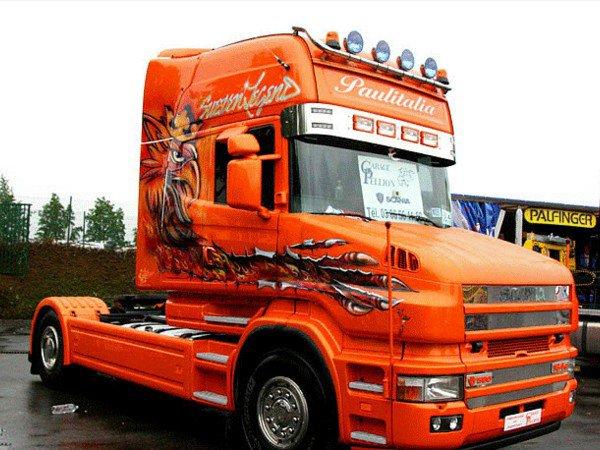 Photos de camions.