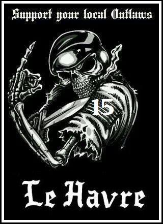 support outlaws le havre et fière de l'être
