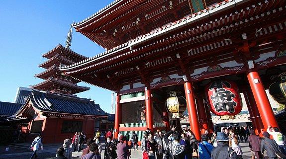 Les Temples de Tokyo!