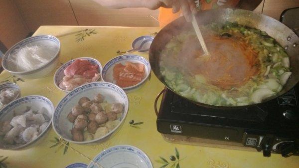 fondue chinoise :)