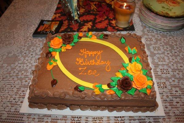 Birthday's party, Bilan des dernières semaines, photos... :