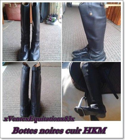 Les bottes, boots et chaps