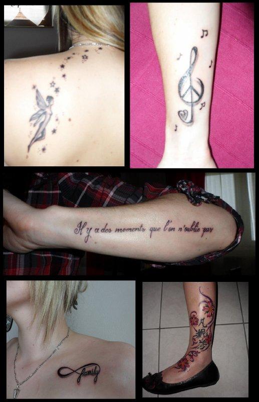 J'adore les piercings et les tatouages !!!