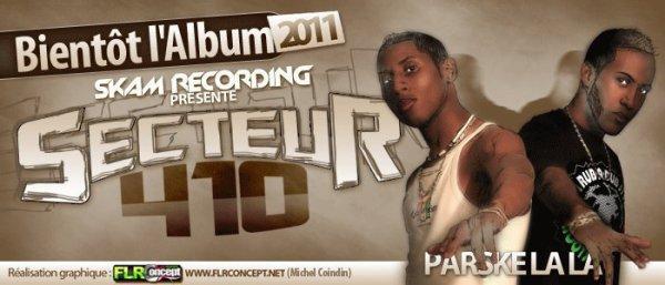 SORTIE DE L'ALBUM SECTEUR 410 AVEC SKAM RECORDING